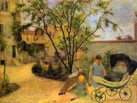 Garden in the Rue Carcel