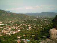 Malinalco Town from Above