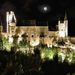 """Segovia Castle by Night"" by IMAX007"