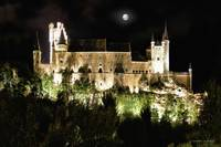 Segovia Castle by Night
