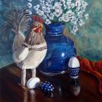 """Chicken: Polish Pottery XLIX"" by 88heather"