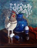 Chicken: Polish Pottery XLIX