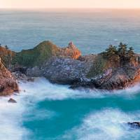 """McWay Falls, Julia Pfeiffer Burns State Park, CA"" by RichardSisk"