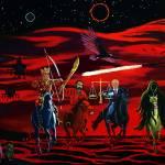 """four horsemen with hdtv2 copy"" by khanstudio"