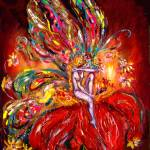 """FAIRY IN RED"" by BulganLumini"
