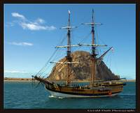 Lady Washington in Morro Bay, California
