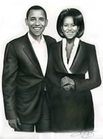 President Barack Obama & 1st Lady Michelle Obama!
