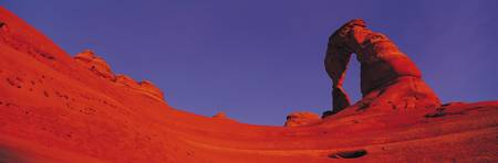 Delicate Arch in Deep Red