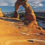 """Delicate Arch in Arches National Park"" by ArtLoversOnline"