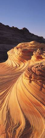 Curved Red Rock Patterns