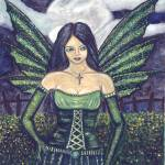 """Green faery"" by Faerysayles"