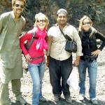 """Farooq with Foreigner Tourists"" by Farooq"