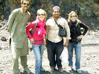 Farooq with Foreigner Tourists