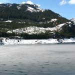 """Snow covered lake in Washington State"" by shana"