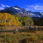 """""""Mt. Sneffels and a Corral"""" by mikenorton"""