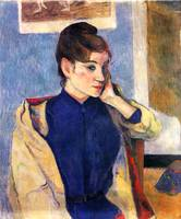 Portrait of Madeleine Bernard