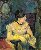 Portrait of the Mme Gauguin