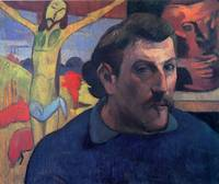 Gauguin Self Portrait with Yellow Christ