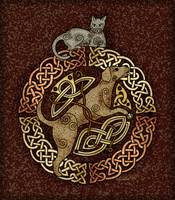 Celtic Cat and Dog