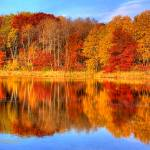 """Autumn Reflections"" by WaynePhotoGuy"