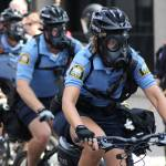 """RNC Protest Rally anarchists move police respond"" by WaynePhotoGuy"
