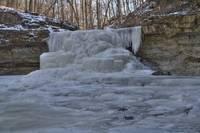 Canyon Falls - Winter #1 (IMG_6919) by Jeff VanDyke