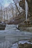 Canyon Falls - Winter #2 (IMG_6916) by Jeff VanDyke