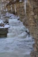 Canyon Falls - Winter #4 (IMG_6950) by Jeff VanDyke