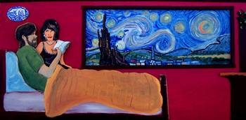 Starry night Hotel, room 36