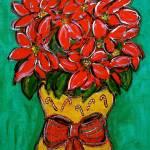 """Poinsettias"" by HeidiZeile"