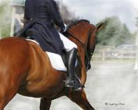 Dressage Painting