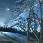 """Louisiana Landscape at Night"" by Lenora"
