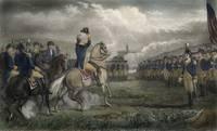 Washington at Cambridge 1775 by WorldWide Archive