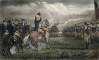 Washington at Cambridge 1775