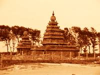 Seashore temple at Mahabalipuram