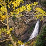 """""""Yellow Forest Waterfall"""" by mikenorton"""