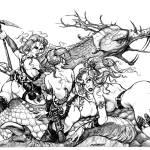 """riding on dragon"" by maraschi"