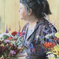 The Flower Lady Art Prints & Posters by S. Siobhan McElwee