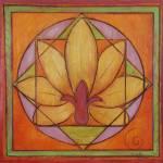 """""""Lotus Mandala 1"""" by judithshaw"""