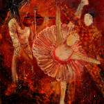 """Ballerina and Arlequino"" by pol"