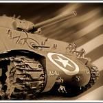 """""""Sherman (Bastogne)"""" by vandervoort"""