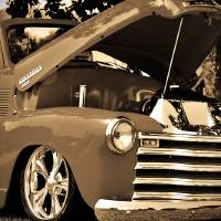 Classic Chevy Truck Art Prints & Posters by Matt Barnes