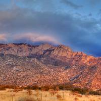 """Sandia Mountains HDR"" by Diluted"