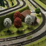 """Train set, Berlin Germany"" by herzco"