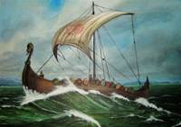 Viking War Ship