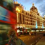 """Harrods at Dusk - London"" by raftergood"