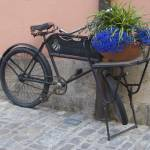 """Bicycle Flower Pot"" by mcgahen"