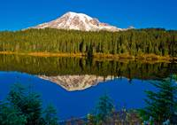 Mt Rainier in Reflection Lake No.2