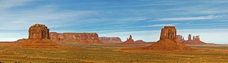 Panorama of Monument Valley from Artist Point