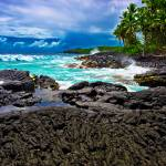 """Hawaii Volanic Shoreline"" by robgerman"